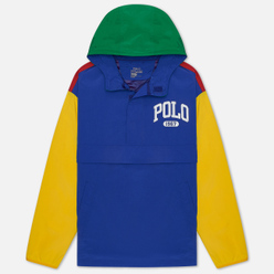 Мужская куртка анорак Polo Ralph Lauren Grant Performance Pullover Red/Rugby Royal