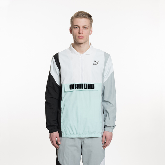 Мужская куртка анорак Puma x Diamond Supply Co Savannah White