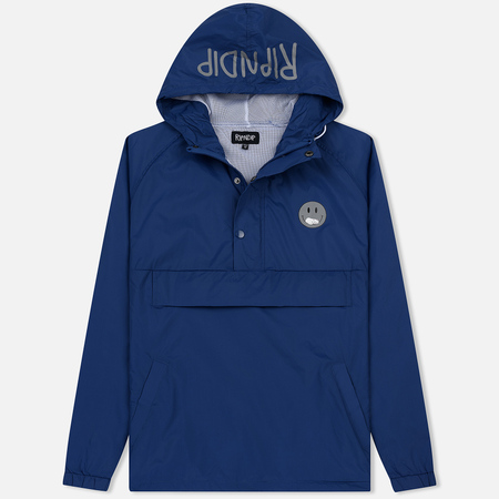 Мужская куртка анорак RIPNDIP Everything Will Be Ok 3M Navy