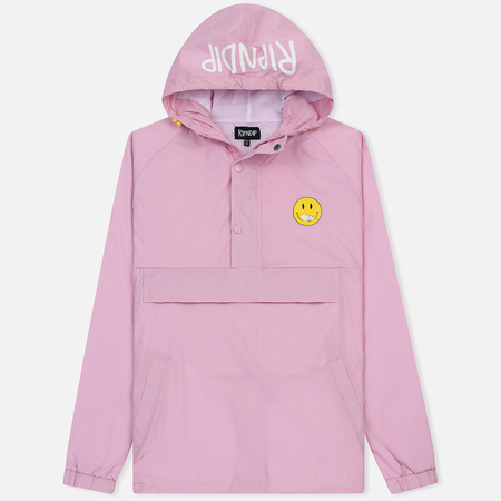 Мужская куртка анорак RIPNDIP Everything Will Be Ok Pink