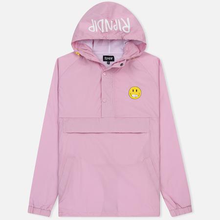 Мужская куртка анорак RIPNDIP Everything Will Be Ok Pink