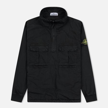 Мужская куртка анорак Stone Island Garment Dyed Overshirt Black