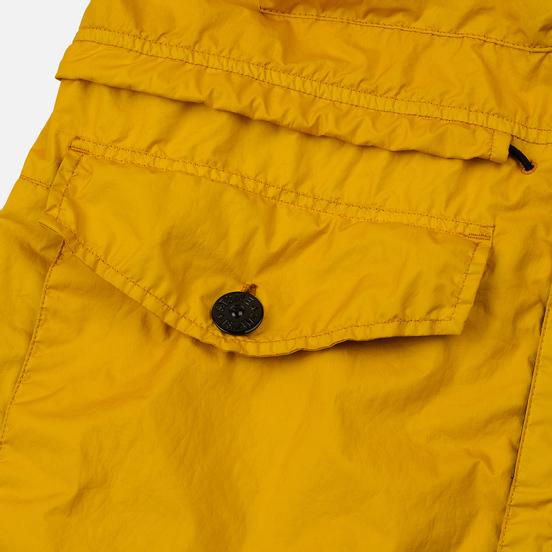 Мужская куртка Stone Island Long Membrana 3L TC Yellow