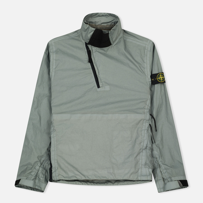 Мужская куртка анорак Stone Island Membrana 3L TC Pearl Grey