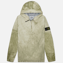 Мужская куртка анорак Stone Island Membrana + Oxford 3L Dust Colour Finish Beige