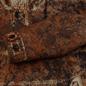 Мужская куртка анорак Stone Island Paintball Camo Fishtail Dark Brown фото - 4