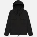 Мужская куртка анорак Stone Island Shadow Project Nyco Poplin Black фото- 0