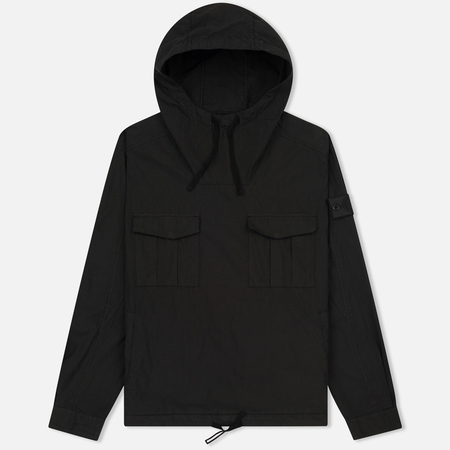 Мужская куртка анорак Stone Island Shadow Project Nyco Poplin Black