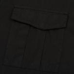 Мужская куртка анорак Stone Island Shadow Project Nyco Poplin Black фото- 2