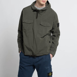 Мужская куртка анорак Stone Island Shadow Project Nyco Poplin Green фото- 6