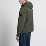Мужская куртка анорак Stone Island Shadow Project Nyco Poplin Green фото- 7