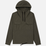 Мужская куртка анорак Stone Island Shadow Project Nyco Poplin Green фото- 0