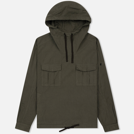 Мужская куртка анорак Stone Island Shadow Project Nyco Poplin Green