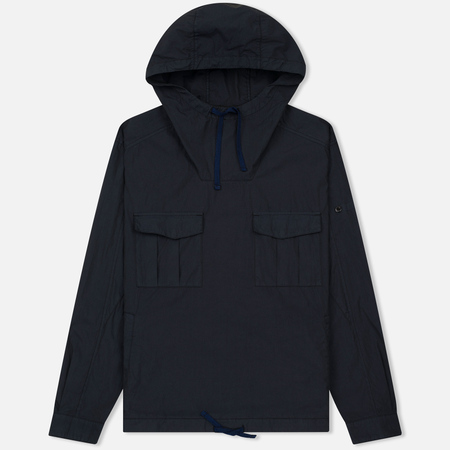 Мужская куртка анорак Stone Island Shadow Project Nyco Poplin Navy