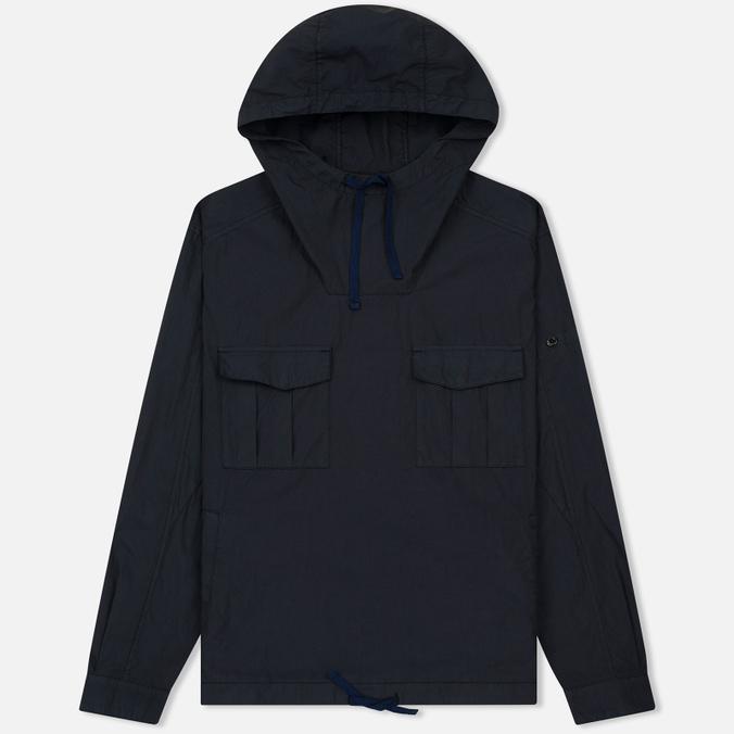 Мужская куртка анорак Stone Island Shadow Project Nyco Poplin Navy