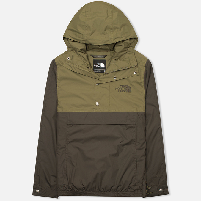Мужская куртка анорак The North Face Rage Mountain Black/Ink Green