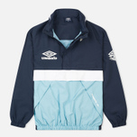 Мужская куртка анорак Umbro Pro Training Wind Top Navy/Sky/White фото- 0
