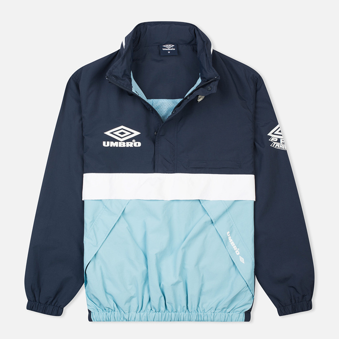 Мужская куртка анорак Umbro Pro Training Wind Top Navy/Sky/White