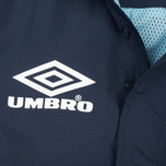 Мужская куртка анорак Umbro Pro Training Wind Top Navy/Sky/White фото- 5