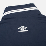 Мужская куртка анорак Umbro Pro Training Wind Top Navy/Sky/White фото- 4