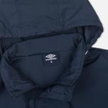 Мужская куртка анорак Umbro Pro Training Wind Top Navy/White фото- 3