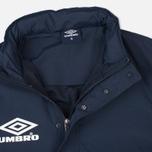 Мужская куртка анорак Umbro Pro Training Wind Top Navy/White фото- 1