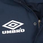 Мужская куртка анорак Umbro Pro Training Wind Top Navy/White фото- 4