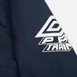 Мужская куртка анорак Umbro Pro Training Wind Top Navy/White фото- 6