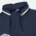 Мужская куртка анорак Umbro Pro Training Wind Top Navy/White фото- 2