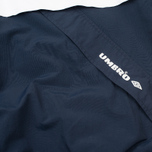 Мужская куртка анорак Umbro Pro Training Wind Top Navy/White фото- 5