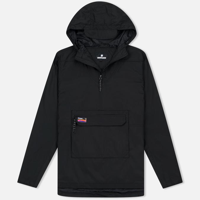 Мужская куртка анорак Undefeated Striker Black