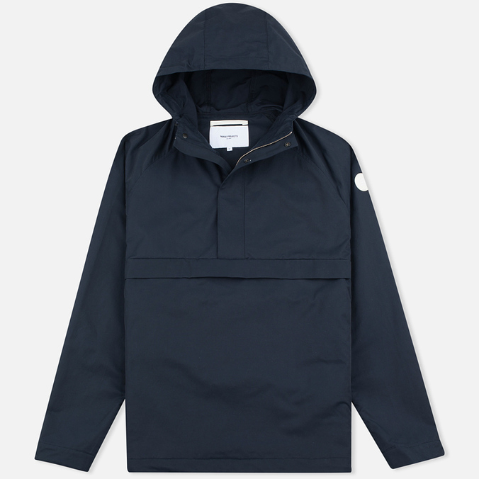Мужская куртка анорак Norse Projects Frank Summer Cotton Navy