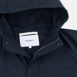 Мужская куртка анорак Norse Projects Frank Summer Cotton Navy фото- 1