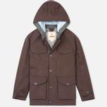 Мужская демисезонная куртка Baracuta 3L Mountain Windbreaker Twist Dark Brown фото- 0
