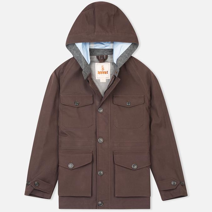 Мужская демисезонная куртка Baracuta 3L Mountain Windbreaker Twist Dark Brown