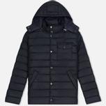 Мужская куртка Barbour Cowl Quilt Navy фото- 0