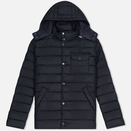 Barbour Cowl Quilt Men's Jacket Navy