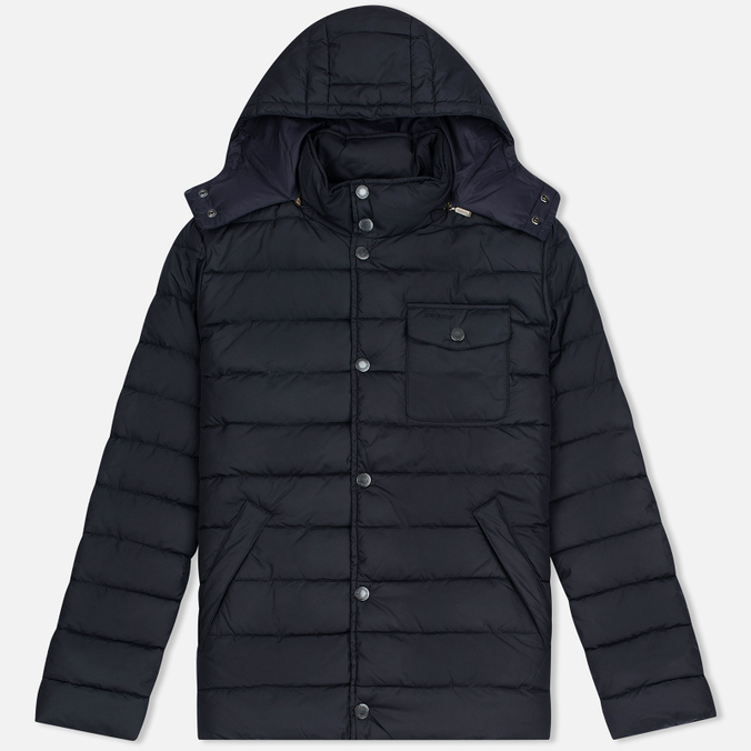 Мужская куртка Barbour Cowl Quilt Navy