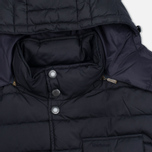 Мужская куртка Barbour Cowl Quilt Navy фото- 1