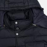 Мужская куртка Barbour Cowl Quilt Navy фото- 1