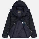 Мужская куртка Barbour Cowl Quilt Navy фото- 2