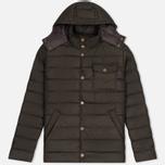Мужская куртка Barbour Cowl Quilt Olive фото- 0