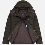 Мужская куртка Barbour Cowl Quilt Olive фото- 2