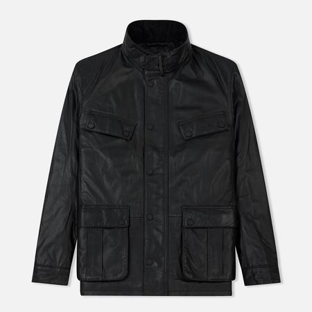 Мужская куртка Barbour International Paul Leather Black