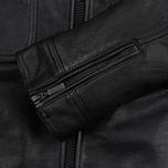 Мужская куртка Barbour International Triumph Locking Leather Black фото- 3