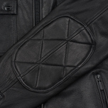 Мужская куртка Barbour International Triumph Locking Leather Black фото- 4