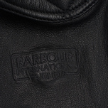 Мужская куртка Barbour International Triumph Locking Leather Black фото- 5