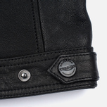 Мужская куртка Barbour International Triumph Locking Leather Black фото- 7