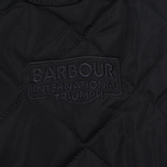 Barbour International V Twin Box Men's Quilted Jacket Black photo- 5