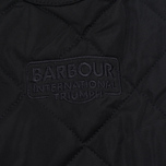 Мужская куртка Barbour International V Twin Box Quilted Black фото- 5